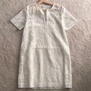 Stunning crochet club Monaco dress with slip.